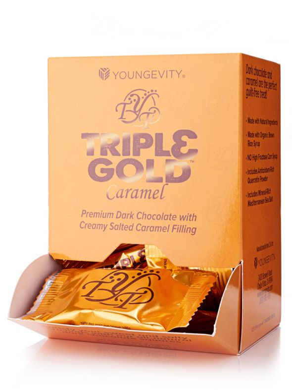 Triple Gold Caramel Squares (20ct)