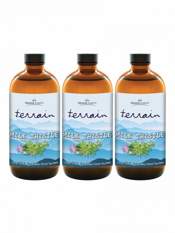 Terrain Milk Thistle (3 Pack)