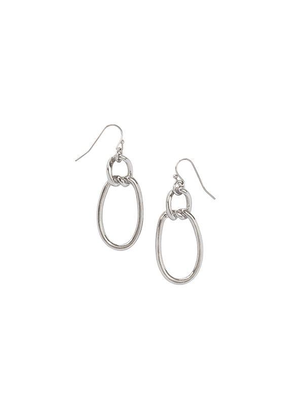 Modern Metal Earrings